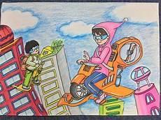 六年级科幻画图片大全